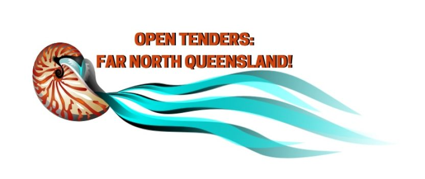 OPEN TENDERS FROM CAIRNS REGIONAL COUNCIL!
